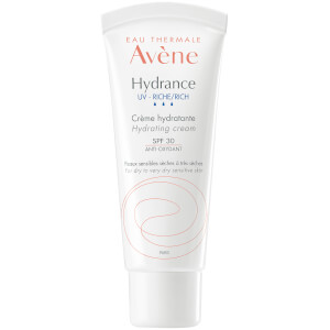 Avène Hydrance Rich-UV Hydrating Cream SPF30 Moisturiser for Dehydrated Skin 40ml