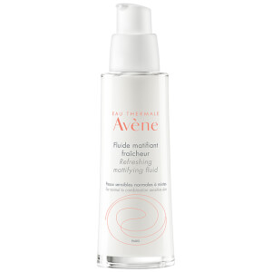 Avène Les Essentiels Refreshing Mattifying Fluid Moisturiser for Oily, Dull Skin 50ml