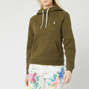 Polo Ralph Lauren Women's Tie-Dye Hoody - Defender Green