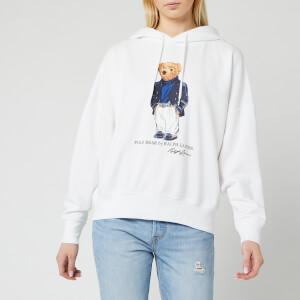 Polo Ralph Lauren Women's Blazer Bear Hoody - White