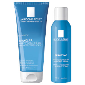 La Roche-Posay Men's Skincare Cleanse and Post Shave Care Duo