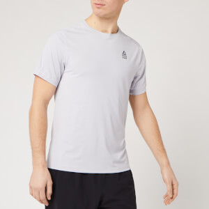 Reebok Men's Activechill Short Sleeve T-Shirt - Sterling Grey