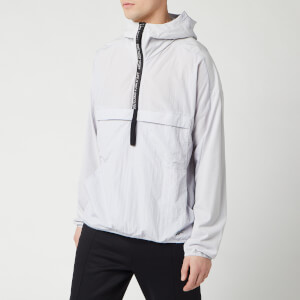 Reebok Men's Woven Anorak Jacket - Sterling Grey