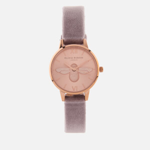 Olivia Burton Women's 3D Bee Watch - Rose Gold