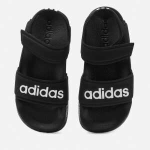 Adidas Kid's Adilette Sandals - Core Black