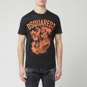Dsquared2 Men's Engine Print T-Shirt - Black