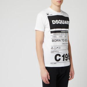 Dsquared2 Men's Born to Fight T-Shirt - White