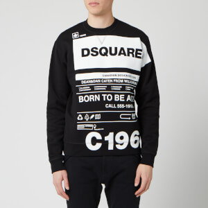 Dsquared2 Men's Born to Fight Sweatshirt - Black
