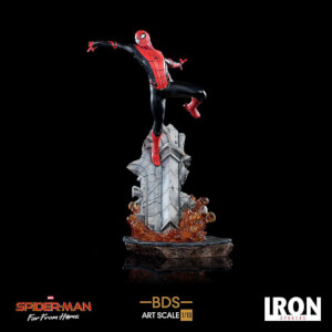 Iron Studios Spider-Man: Far From Home BDS Art Scale Deluxe Statue 1/10 Spider-Man
