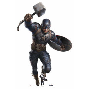 Marvel Captain America Mjolnir Mega Cardboard Cut-Out