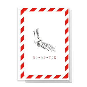 Ho-Ho-Toe Greetings Card