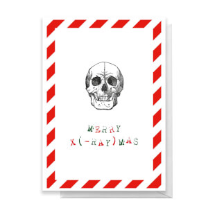 Merry X(-Ray)mas Greetings Card