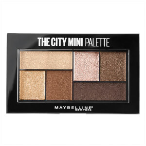 Maybelline City Mini Eye Shadow Palette - Rooftop Bronzes 4g