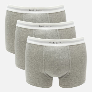 PS by Paul Smith Men's 3 Pack Boxer Briefs - Grey