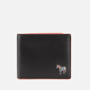 PS Paul Smith Men's Zebra Bifold Wallet - Black