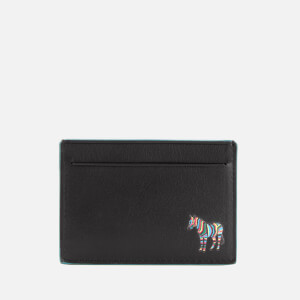 PS Paul Smith Men's Zebra Credit Card Wallet - Black