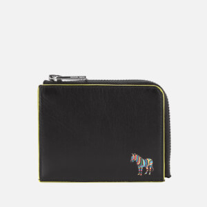 PS Paul Smith Men's Zebra Zip Wallet - Black