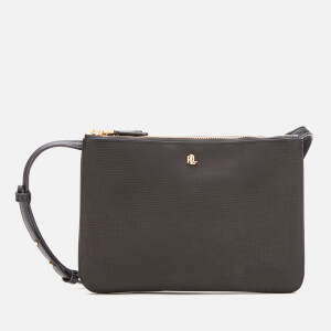 Lauren Ralph Lauren Women's Carter Medium 26 Cross Body Bag - Black
