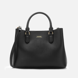 Lauren Ralph Lauren Women's Marcy Mini II Satchel - Black/Crimson