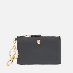 Lauren Ralph Lauren Women's Zip Medium Card Case - Black