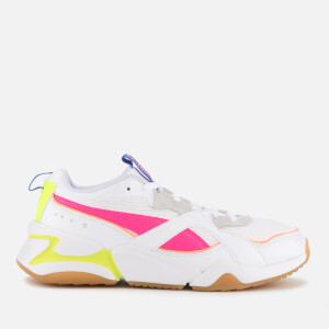 Puma Women's Nova 2 Trainers - Puma White/Natural Vachetta