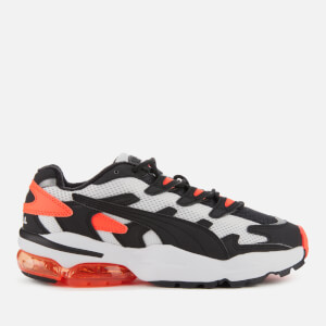 Puma Men's Cell Alien OG Trainers - Puma White/Puma Black - Lava Blast