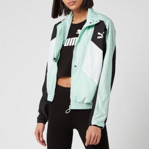 Puma Women's TFS Woven Track Jacket - Mist Green