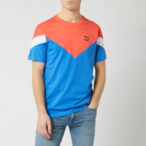 Puma Men's Iconic MCS Short Sleeve T-Shirt - Palace Blue
