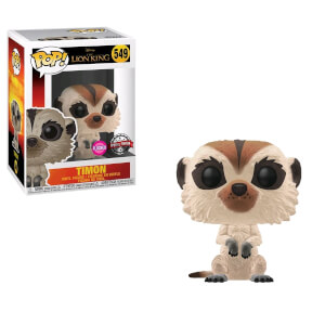 Disney Lion King Timon Flocked EXC Pop! Vinyl Figure