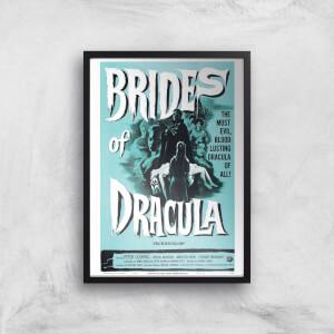 Brides Of Dracula Giclee Art Print