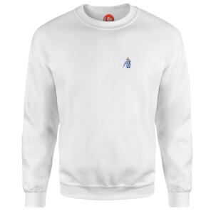 A Point To Prove - White Sweatshirt - White