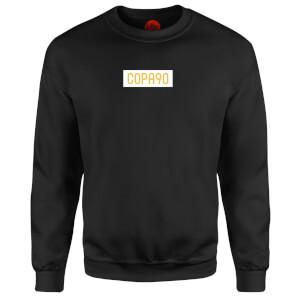 COPA90 Everyday - Black/White/Yellow Sweatshirt - Black