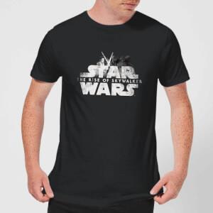 Star Wars: The Rise Of Skywalker IX Rey Kylo Battle Men's T-Shirt - Black