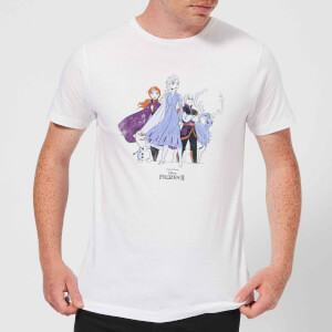Frozen 2 Group Shot Men's T-Shirt - White