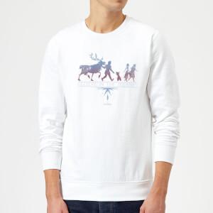 Frozen 2 Believe In The Journey Sweatshirt - White