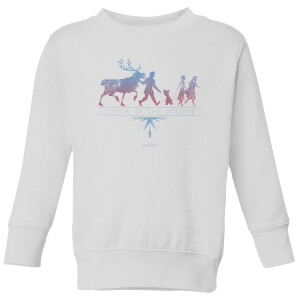 Frozen 2 Believe In The Journey Kids' Sweatshirt - White