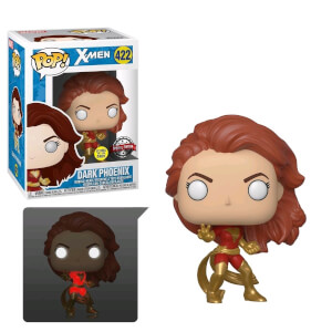 Marvel Dark Phoenix (GITD) EXC Pop! Vinyl Figure