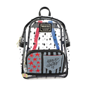 Loungefly DC Comics Birds Of Prey Harley Clear Mini Backpack