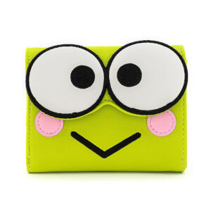 Loungefly Sanrio Hello Kitty Keroppi Cosplay Tri Fold Wallet