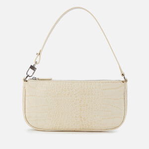 by FAR Women's Rachel Croco Leather Bag - Cream