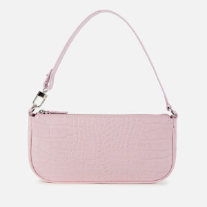 by FAR Women's Rachel Croco Bag - Pink
