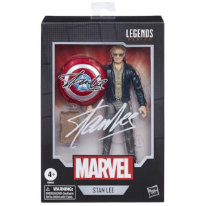 "Hasbro Marvel Legends Stan Lee 'Avengers Cameo' 6"" Action Figure"