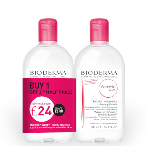 Bioderma Sensibio H2O 500ml Duo Pack