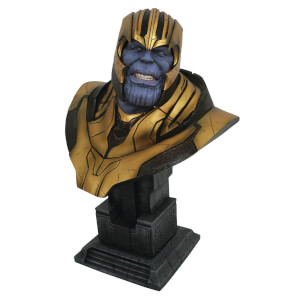 Diamond Select Legends In 3D Marvel Avengers 4 Thanos 1/2 Scale Bust
