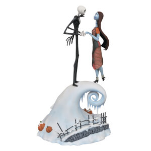Statuetta Milestones di Jack & Sally, da Nightmare Before Christmas - Diamond Select