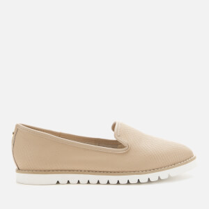 Dune Women's Galleon Leather Comfort Loafers - Cappuccino