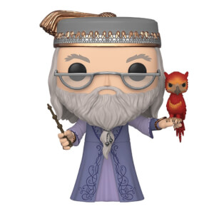 Harry Potter Dumbledore with Fawkes 10-Inch Funko Pop! Vinyl