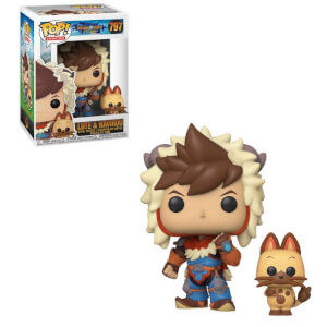 Figurine Pop! Lute Avec Navirou - Monster Hunter