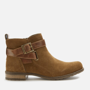 Barbour Women's Jane Suede Ankle Boots - Cognac