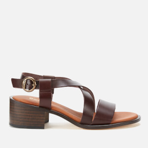 Barbour Women's Thea Block Heeled Sandals - Choco